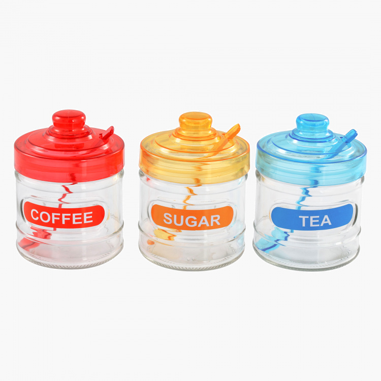 Madeline Canister and Spoon - Set of 3