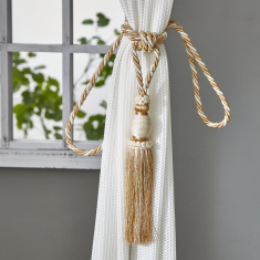 Maura Tassel Detail Curtain Tie Back