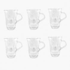 Crystal Mina 6-Piece Tea Glass Set - 150 ml