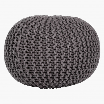 Grace Hand Knitted Pouf