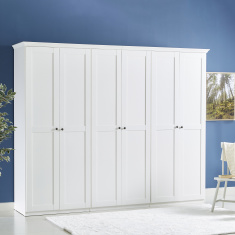 Country New 6-Door Wardrobe
