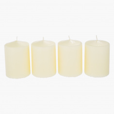 Luna Pillar Candle - Set of 4