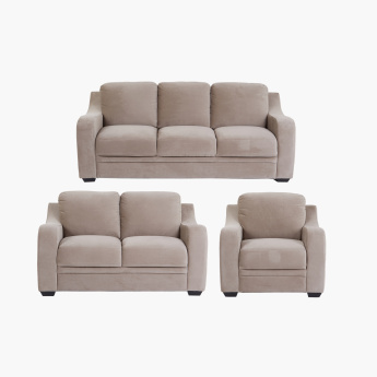 Gary 1-Seater Sofa with Curved Arms