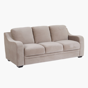 Gary 3-Seater Sofa with Curved Arms