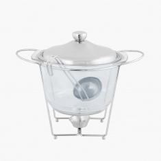Wellshine Soup Warmer with Ladle - 4 L