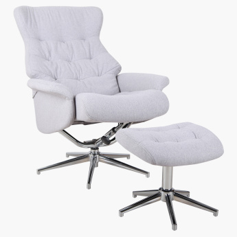 Kate 1-Seater Recliner and Stool
