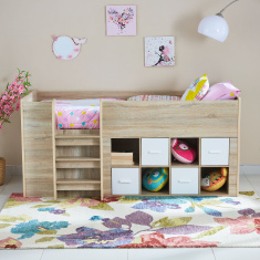 Costagat High Storage Bed - 90x190 cms
