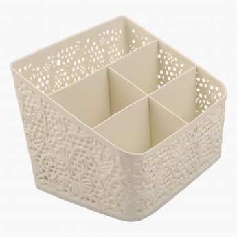 Lace Cutlery Holder - 18x14x14 cms