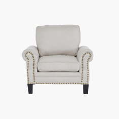 Yorktown 1-Seater Sofa with Stud Detail