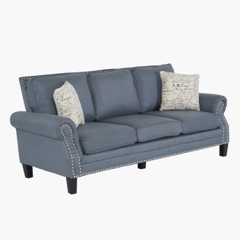Yorktown 3-Seater Sofa with Cushions