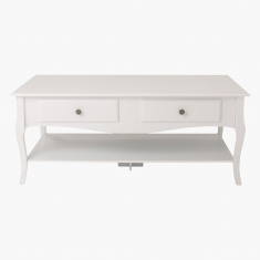 Queen Anne Coffee Table with 4-Drawers