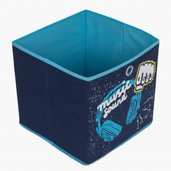 Knight Boys Cube Box - 31x31x31 cms