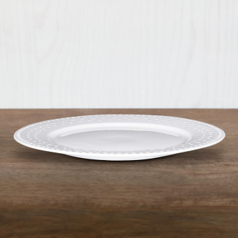 Bella Embossed Dinner Plate - 25 cms