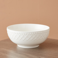 Bella Embossed Cereal Bowl  - 15 cms