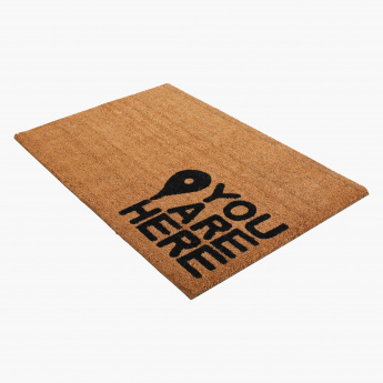You are Here Printed Door Mat - 60x90 cms