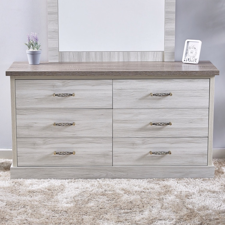 Angelic 6-Drawer Master Dresser