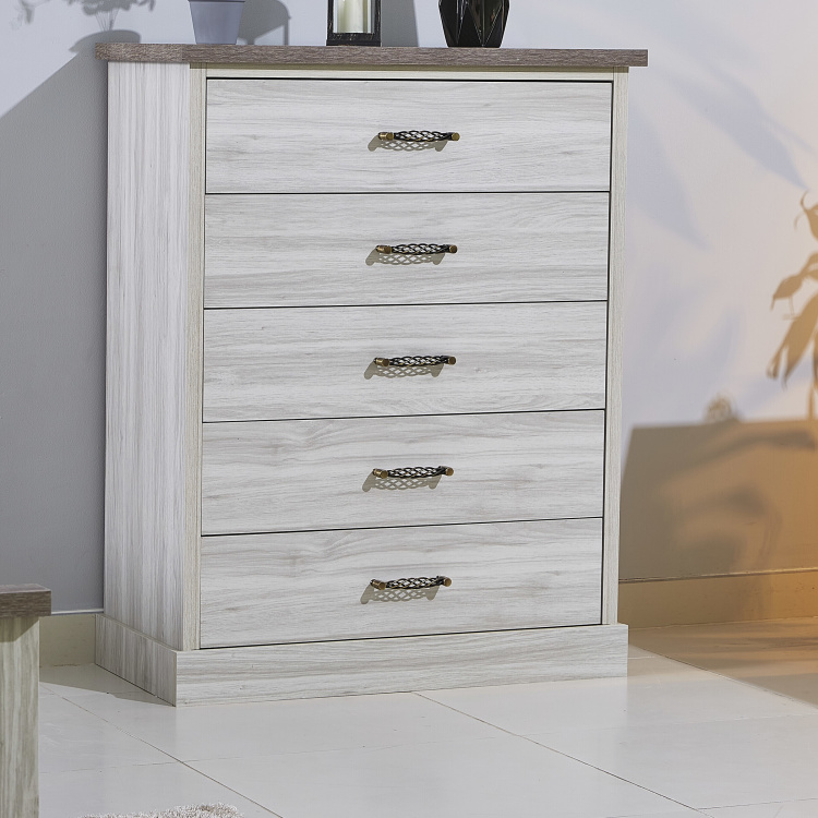 Angelic Chest of 5-Drawers