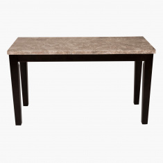 Arlington Sofa Table With Marble Top