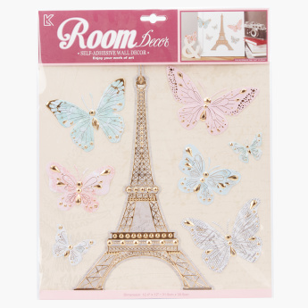 Effiel Tower Room Decor Stickers