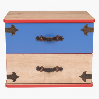 Sea Rover 2-Drawers Nightstand