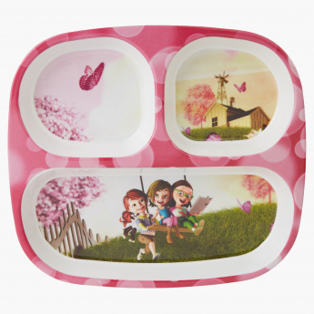 Julia Kids 3-Part Plate