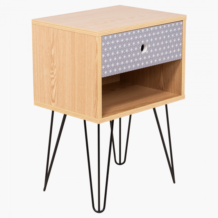 Morocco 1-Drawer End Table
