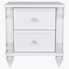 Carla 2-Drawers Night Stand