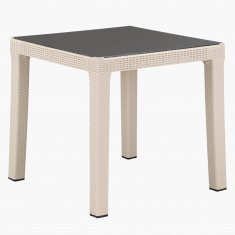 Elena Rattan 4-Seater Table
