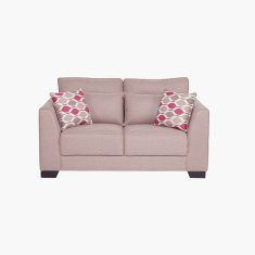 Alena 2-Seater Sofa with Square Arm Style
