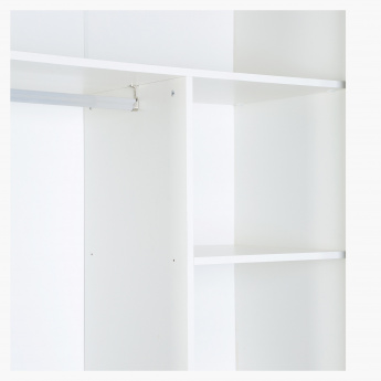 Oslo Large Sliding Door Wardrobe With Mirror