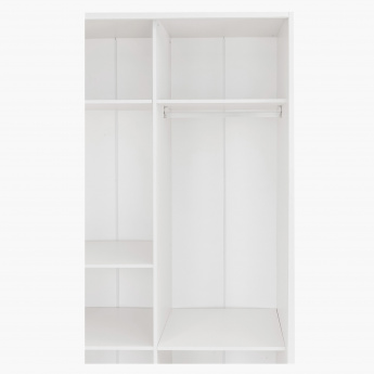 Oslo Small Sliding Door Wardrobe with Mirror