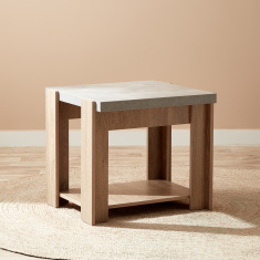 Cementino End Table