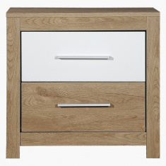 Lamo 2-Drawer Nightstand