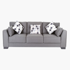 Alena 3-Seater Sofa with 5 Cushions