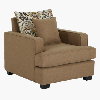 Cindy 1 Seater Sofa with Cushion