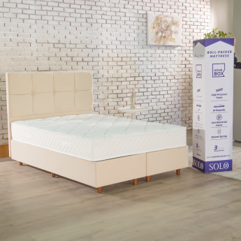 Solo Spring Mattress Packed in the Box - 90x190x22 cms