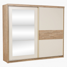 Parkay Sliding Door Wardrobe with Mirror