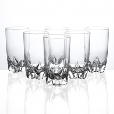 Pearl Lisbonne Highball Tumbler 6 Piece Set -330 ml