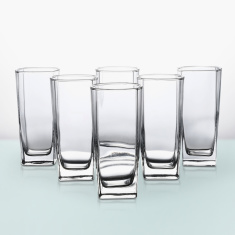 Pearl Sterling Highball Tumbler 6 Piece Set -330 ml