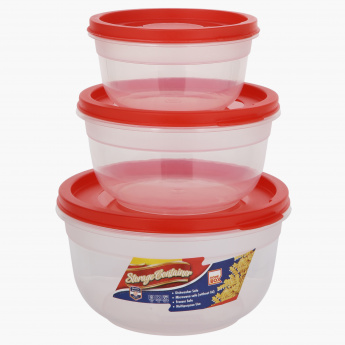 Spectra 3-Piece Food Container Set
