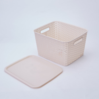 Spectra Royal Storage Basket with Lid
