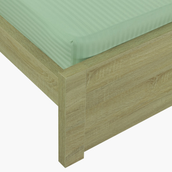 Hamilton Striped Twin Fitted Sheet - 120x200 cms