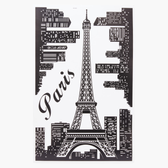 Skyline Room Decor Sticker