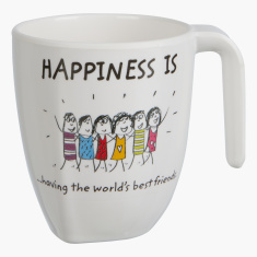 Happiness is Having The World's Best Friends Mug- 320 ml