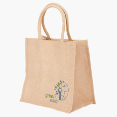 Go Green Printed Lunch Bag - Large