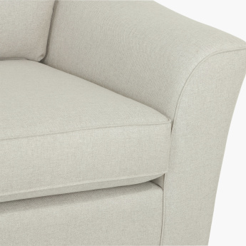 Joy Textured Sofa with Cushion