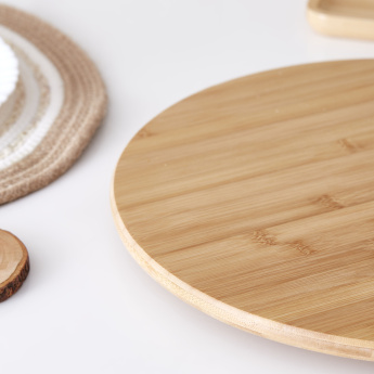 Bamboo Round Lazy Susan
