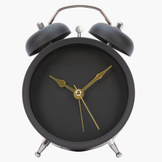 Mini Round Alarm Clock with Pointer - 16 cms