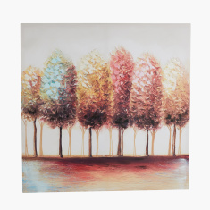 Nomadic Trees Square Canvas