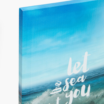 Sea Breeze Printed Canvas - Set of 2